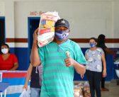 Prefeitura de Marituba segue entregando kits de merenda escolar