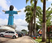 Prefeitura de Marituba revitaliza a iluminação pública da Praça da Matriz